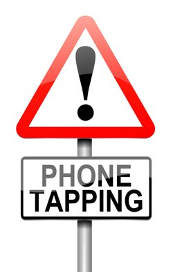 picture of a warning sign to tell people calls are being recorded